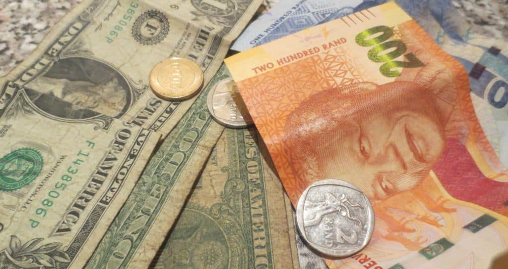 Dollar To Rand Usd Zar Live Exchange Rate Graphs Fluctuations